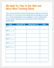 Sample Tracking Sheet Template Pdf Download