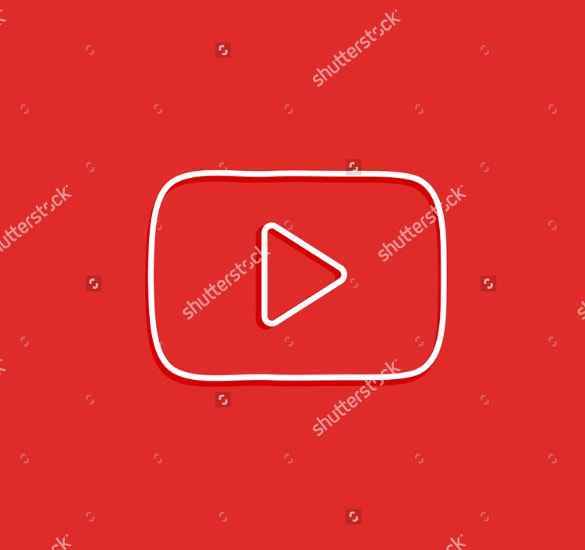 red color youtube background download