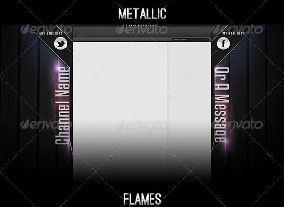 metalic youtube backgrounds for download