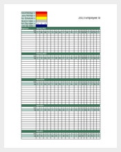 Employee Vacation Tracker Excel Format Download