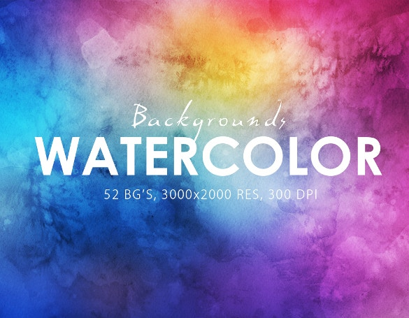 50 water color backgrounds for download