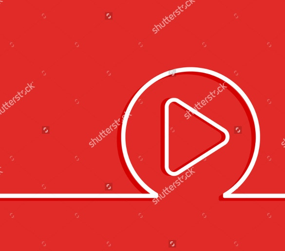 simple youtube background template download