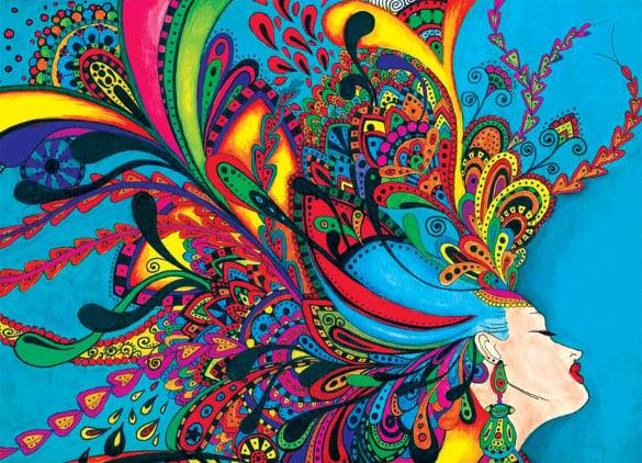 cool art of women