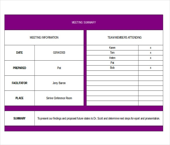 Executive Memo Templates  Free Sample Example Format