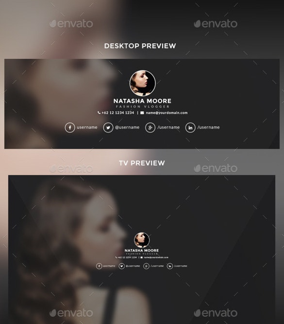 Youtube channel art template 42 free psd ai vector eps format easy to download youtube channel art template pronofoot35fo Images