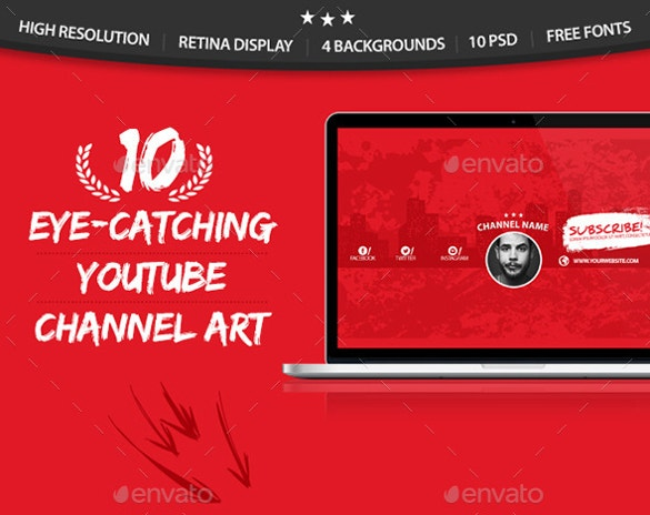 10 multipurpose youtube channel arts download