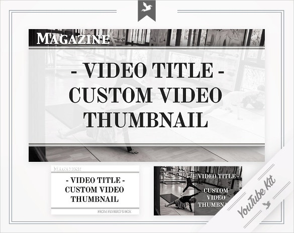 customizable youtube thumbnail template for download