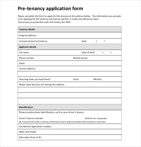 free rental application form template koni polycode co