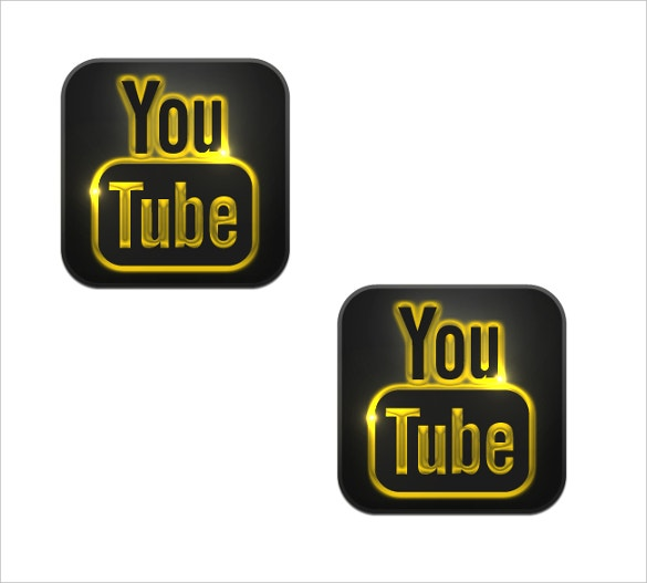 light theme youtube icon for download
