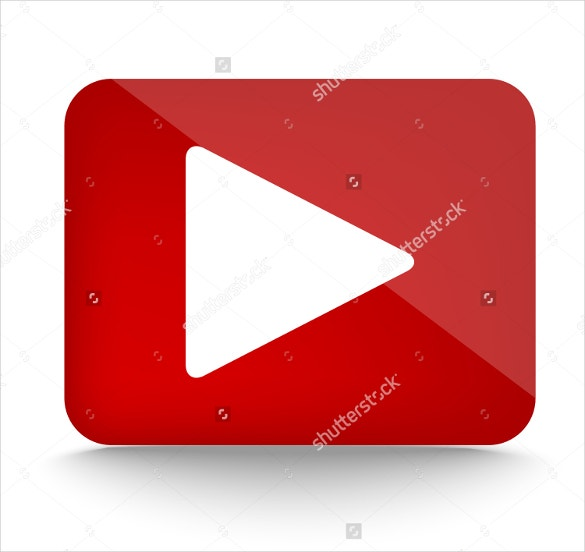 play icon for youtube