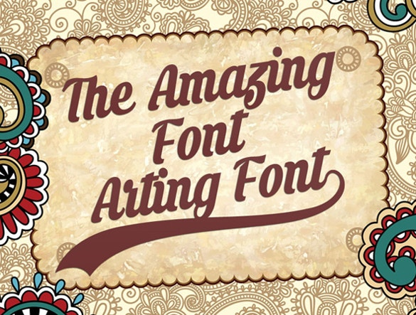 amazing retro font ttf download