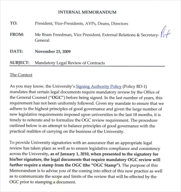 Legal Memo Format. Legal Memorandum Format Sample Legal Memo - 6+