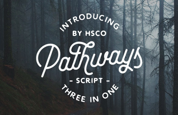 pathways retro font download1