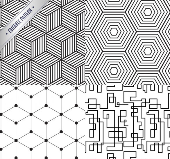geometrical pattern collection free download