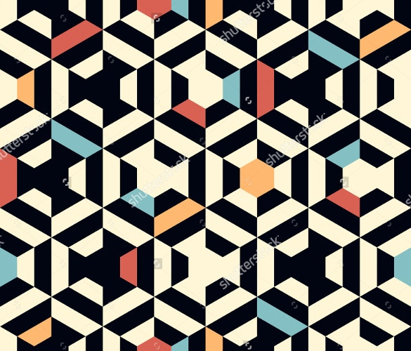 geometric strip pattern free download