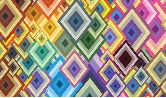 geometric shapes vector pattern download
