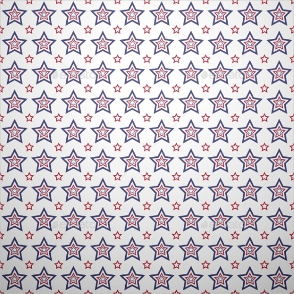 patriotic red geometric pattern