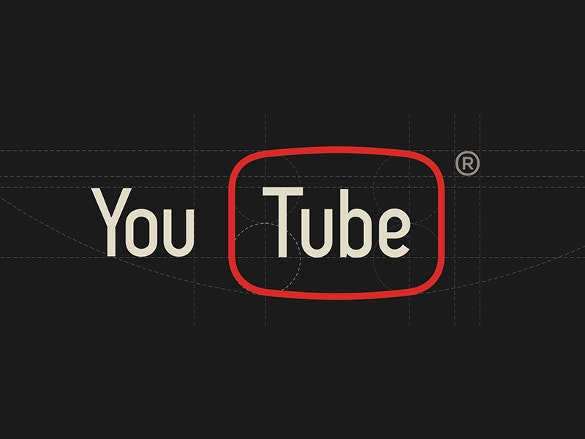 attractive youtube logo free download