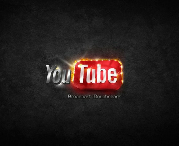 YouTube Template – 2PSD, PNG, AI, Vector EPS Format Download