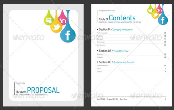 Etonnant Full Generic Business Proposal Word Template