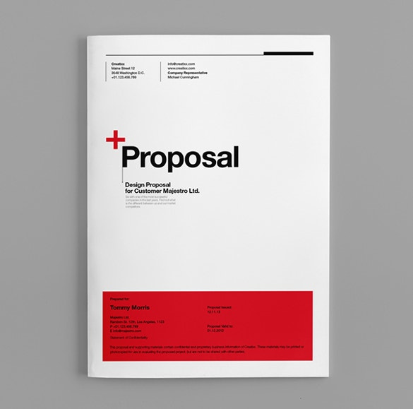 28 Free Proposal Templates Microsoft Word Format Download Free