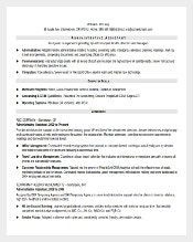 PDF Midlevel Administrative Assistant Resume Template