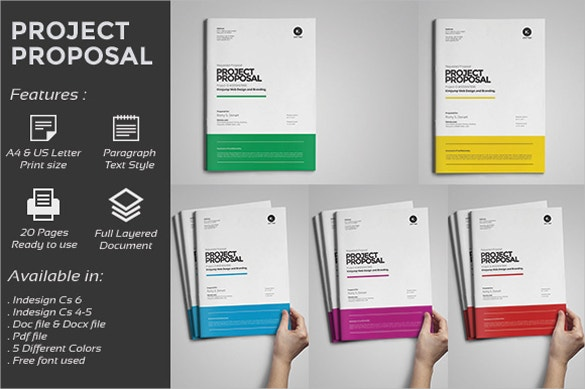 Great MS Word 2010 Modern Proposal Template  Microsoft Office Proposal Templates
