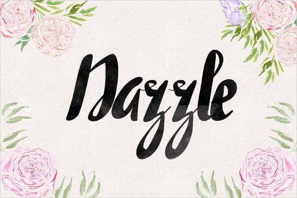 dazzle professional font download1