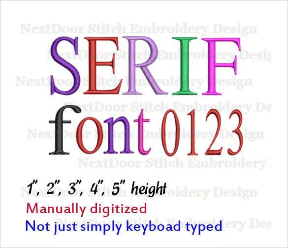 professional serif font download