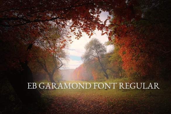 eb garamond regular font ttf download