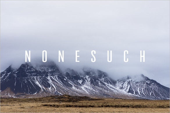 nonesuch strong professional font download