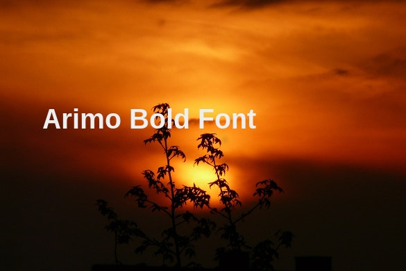 arimo bold font ttf download