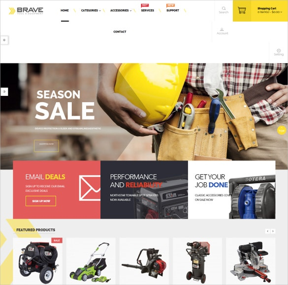 dedicated responsive opencart theme for tools and equipment store 45