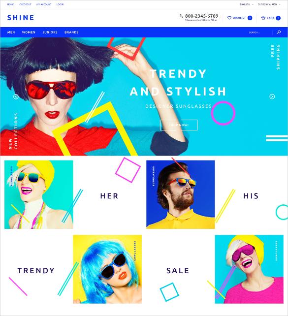 designer sunglasses opencart template 62
