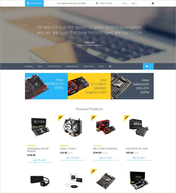 hardware opencart template 62