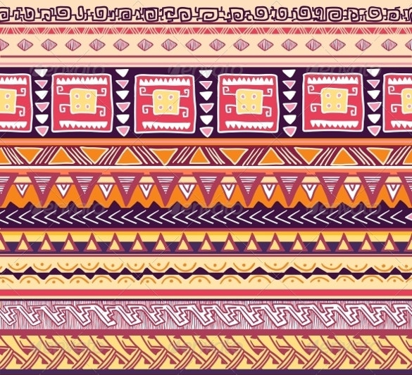 seamless tribal pattern vector illustration download