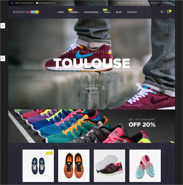 wonderful responsive opencart theme for fashion and sport store 45
