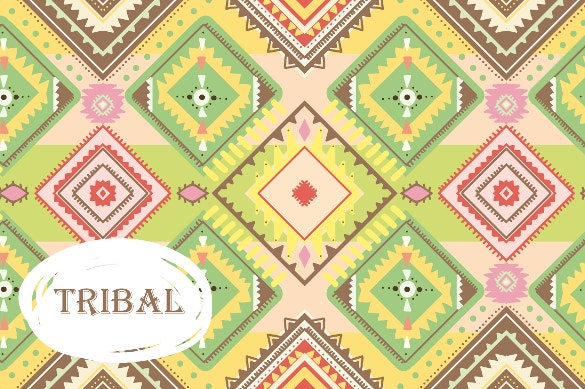 set of seamless tribal patterns download