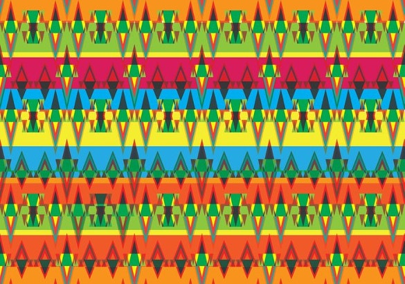 tribal pattern vector free download
