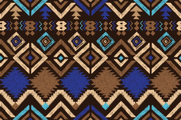 tribal seamless ornaments pattern download