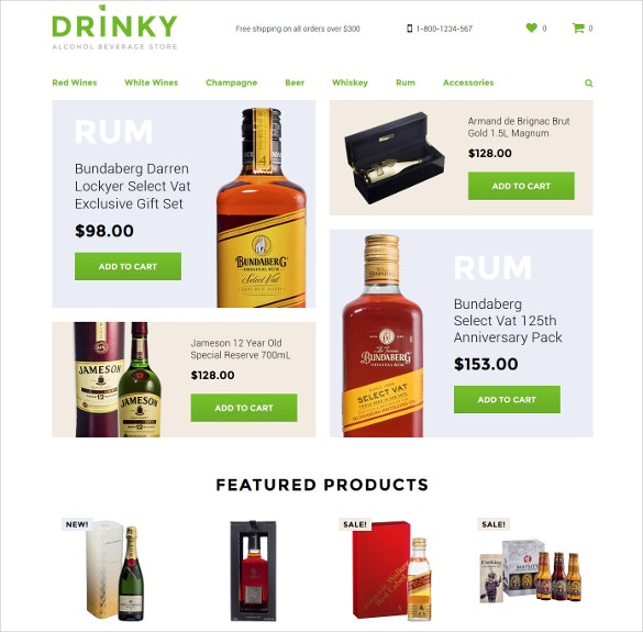 wine opencart template 62