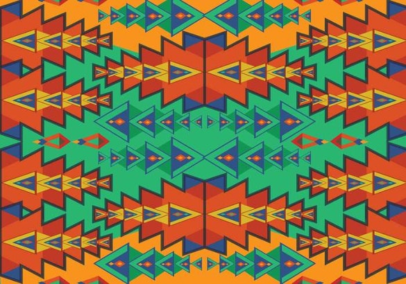 aztec seamless pattern in colorful designs free download