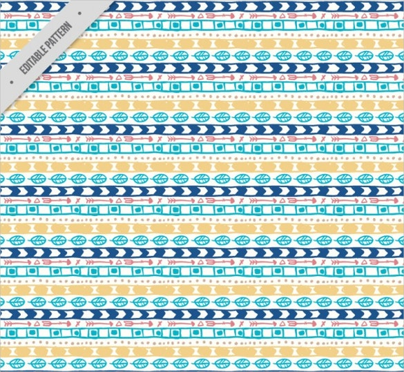 colorful boho style pattern free download