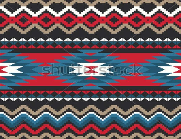 folk ornamental tribal seamless pattern download