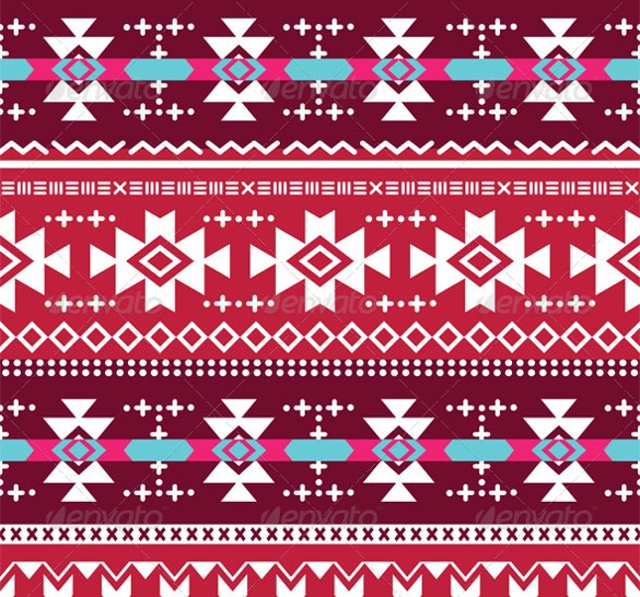 tribal aztec seamless pattern download
