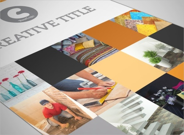 creative interior design flyer template download