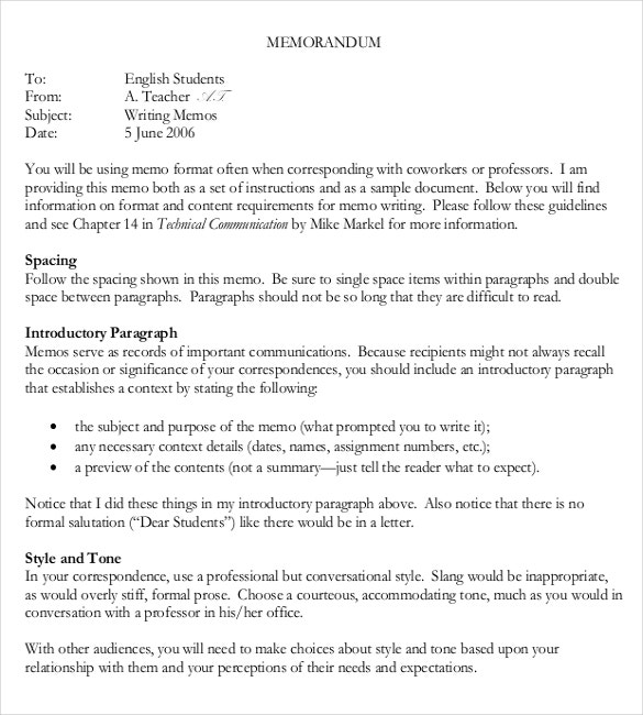 Formal Memo Formal Army Memo Template Free Format Download Formal