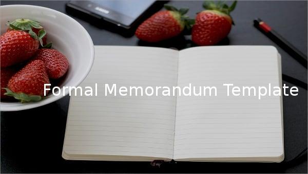 formalmemorandumtemplate1