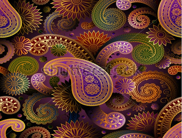 seamless pattern with paisley download
