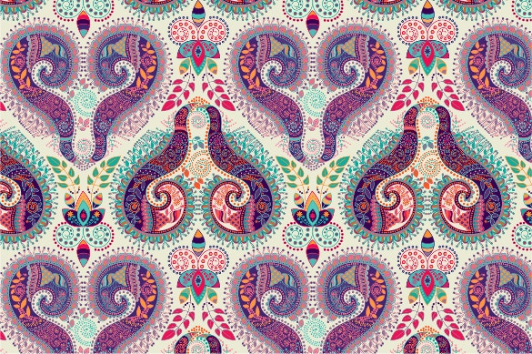 seamless paisley pattern for download